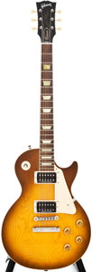 Musical Instruments:Electric Guitars, Modern Gibson Les Paul Classic Sunburst Solid Body Electric Guitar,#8 2449....