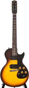 Musical Instruments:Electric Guitars, 1960 Gibson Melody Maker D Sunburst Solid Body Electric Guitar, #01976....