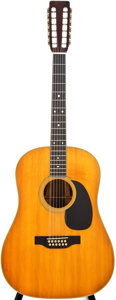 Musical Instruments:Acoustic Guitars, 1969 Martin D12-35 Natural 12-String Acoustic Guitar, #249304....