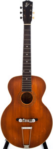 Musical Instruments:Acoustic Guitars, 1918 Gibson L-2 Natural Acoustic Guitar, #41756....