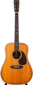 Musical Instruments:Acoustic Guitars, 1955 Martin D-28 Natural Acoustic Guitar, #142194....