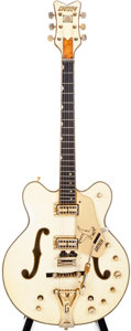 Musical Instruments:Electric Guitars, 1968 Gretsch White Falcon White Semi-Hollow Body Electric Guitar,#68104....