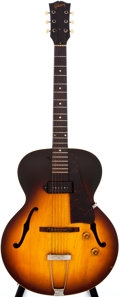 Musical Instruments:Electric Guitars, 1958 Gibson ES-125 Sunburst Archtop Electric Guitar, #T6506....