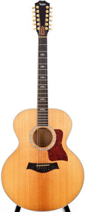 Musical Instruments:Acoustic Guitars, 1997 Taylor 655 Natural 12-String Acoustic Guitar, #970707117....