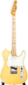 Musical Instruments:Electric Guitars, 1972 Fender Telecaster Butterscotch Solid Body Electric Guitar,#375387....