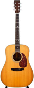Musical Instruments:Acoustic Guitars, 1974 Martin D-28 Natural Acoustic Guitar, #349362....