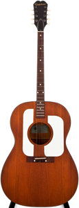 Musical Instruments:Acoustic Guitars, 1964 Epiphone F-28 Natural Acoustic Tenor Guitar, #173622....
