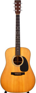 Musical Instruments:Acoustic Guitars, 1977 Martin HD-28 Natural Acoustic Guitar, #396156....