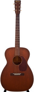 Musical Instruments:Acoustic Guitars, 1948 Martin 00-17 Natural Acoustic Guitar, #106245....