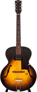 Musical Instruments:Electric Guitars, 1956 Gibson ES-125 Sunburst Semi-Hollow Body Electric Guitar, #V774330....