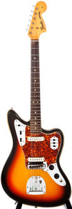 Musical Instruments:Electric Guitars, 1967 Fender Jaguar Sunburst Solid Body Electric Guitar, #140342....