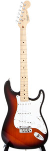 Musical Instruments:Electric Guitars, 1994 Fender Stratocaster Sunburst Solid Body Electric Guitar, #N4167279....