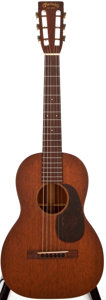 Musical Instruments:Acoustic Guitars, 1937 Martin 5-17 Natural Acoustic Guitar, #67043....