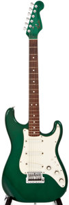 Musical Instruments:Electric Guitars, 1984 Fender Stratocaster Elite 7-Up Green Solid Body Electric Guitar, #CE 0101....