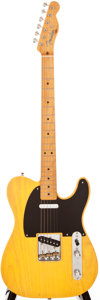 Musical Instruments:Electric Guitars, 2000 Fender Telecaster '52 Reissue Butterscotch Blonde Solid BodyElectric Guitar, #37125....