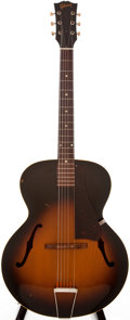 Musical Instruments:Acoustic Guitars, 1956 Gibson L-48 Sunburst Acoustic Guitar, #V 762325....
