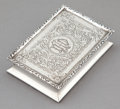 Silver Holloware, British:Holloware, A LATE EDWARDIAN SILVER HINGED BOX . Henry Charles Freeman,Birmingham, England, circa 1912-1913. Marks: (lion passant), (an...