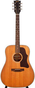 Musical Instruments:Acoustic Guitars, 1974-75 Gibson J-50 Deluxe Natural Acoustic Guitar, #D344346....
