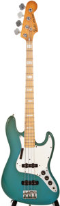 Musical Instruments:Electric Guitars, 1981 Fender Jazz Bass Refinished Electric Bass Guitar, #S859715....