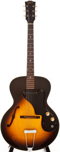 Musical Instruments:Electric Guitars, 1964 Gibson ES-120T Sunburst Semi-Hollow Body Electric Guitar,#84229....