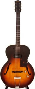 Musical Instruments:Acoustic Guitars, 1961 Gibson ES-125 Sunburst Semi-Hollow Body Electric Guitar,#Q872235....