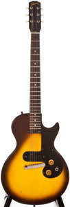 Musical Instruments:Electric Guitars, 1959 Gibson Melody Maker Sunburst Solid Body Electric Guitar, #934808....