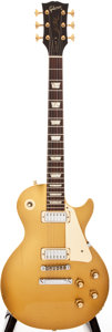 Musical Instruments:Electric Guitars, 1973 Gibson Les Paul Deluxe Goldtop Solid Body Electric Guitar, #133993....