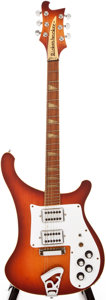 Musical Instruments:Electric Guitars, 1976 Rickenbacker 481 Fireglo Solid Body Electric Guitar,#PC22338....
