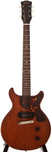 Musical Instruments:Electric Guitars, 1959 Gibson Les Paul Junior Cherry Solid Body Electric Guitar,#936283....