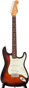 Musical Instruments:Electric Guitars, 1990s Fender Stratocaster Sunburst Solid Body Electric Guitar, #128of 250....