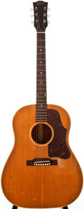 Musical Instruments:Acoustic Guitars, 1956 Gibson J-50 Natural Acoustic Guitar, #V789714....