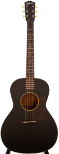 Musical Instruments:Acoustic Guitars, 1939-40 Gibson L-00 Black Acoustic Guitar, #N/A....