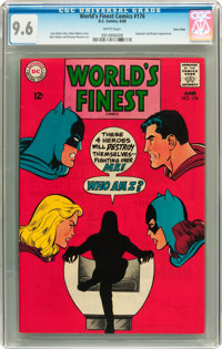 World's Finest Comics #176 Twin Cities pedigree (DC, 1968) CGC NM+ 9.6 White pages