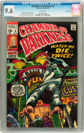 Bronze Age (1970-1979):Horror, Chamber of Darkness #6 Twin Cities pedigree (Marvel, 1970) CGC NM+9.6 White pages....