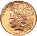 Indian Eagles, 1913 $10 MS65 PCGS....