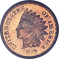 Proof Indian Cents, 1877 1C PR66 Red PCGS. CAC....