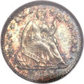 Proof Seated Half Dimes, 1858 H10C PR66 NGC. CAC....