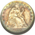 Seated Half Dimes, 1859 H10C MS68 NGC....