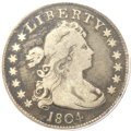 Early Quarters, 1804 25C Fine 12 PCGS. CAC. B-1, R.3....