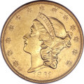 Liberty Double Eagles, 1861-O $20 XF45 PCGS....