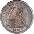 Proof Seated Dollars, 1840 $1 PR62 NGC....