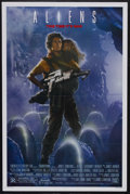 "Movie Posters:Science Fiction, Aliens (20th Century Fox, 1986). One Sheet (27"" X 41""). ScienceFiction. Starring Sigourney Weaver, Carrie Henn, Michael Bie..."