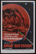 "Movie Posters:Science Fiction, The Angry Red Planet (American International, 1960). One Sheet (27""X 41""). Science Fiction. Starring Gerald Mohr, Nora Hayd..."