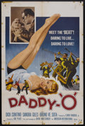 "Movie Posters:Crime, Daddy-""O"" (AIP, 1959). One Sheet (27"" X 41""). Crime. Starring DickContino, Sandra Giles, Bruno Ve Sota and Ron McNeil. Dire..."