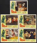 """Movie Posters:Science Fiction, The Day of the Triffids (Allied Artists, 1960). Lobby Cards (5)(11"""" X 14""""). Sci-Fi Horror. Starring Howard Keel, Nicole Mau...(Total: 5 Items)"""