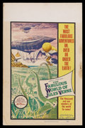 "Movie Posters:Fantasy, The Fabulous World of Jules Verne (Warner Brothers, 1961). WindowCard (14"" X 22""). Adventure. Starring Louis Tock, Ernest N..."