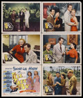 "Movie Posters:Musical, I'll Get By (20th Century Fox, 1950). Title Lobby Card (11"" X 14"") and Lobby Cards (5) (11"" X 14""). Musical. Starring June H... (Total: 6 Items)"