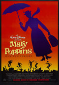 "Movie Posters:Fantasy, Mary Poppins (Buena Vista, R-1994). One Sheet (27"" X 41""). MusicalComedy. Starring Julie Andrews, Dick Van Dyke, David Toml..."