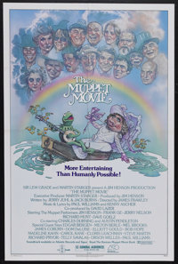 """The Muppet Movie (Associated Film Distributors, 1979). One Sheet (27"""" X 41""""). Musical Comedy. Starring Jim Hen..."""