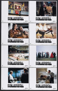 """Movie Posters:Science Fiction, Rollerball (United Artists, 1975). Lobby Card Set of 8 (11"""" X 14"""").Sci-Fi Action. Starring James Caan, John Houseman, Maud ... (Total:8 Items)"""